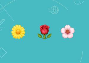 Gaston in mezzo ai fiori